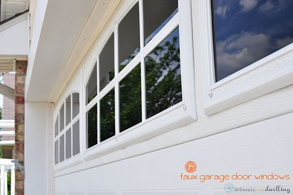 Completed Faux window, Delineate Your Dwelling