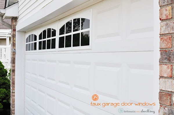 Magnetic faux garage door windows project pdf download for Home hardware garage packages cost