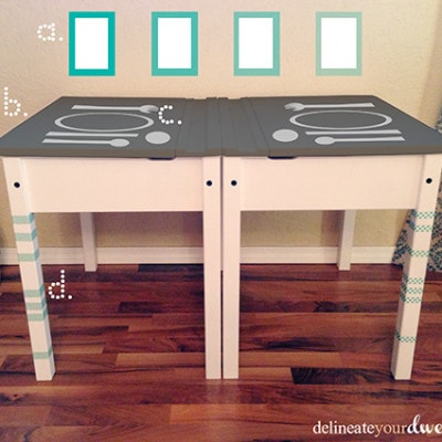 Kiddo Desks mockup