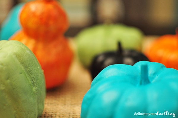 Color Pumpkin, Delineate Your Dwelling