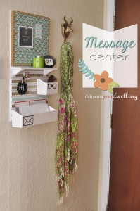 Delineate Your Dwelling Message Center
