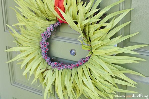 Christmas wreath, Delineateyourdwelling.com