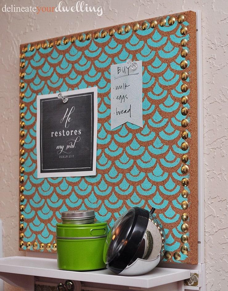 Message Center board, Delineateyourdwelling.com