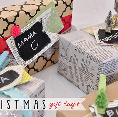 Christmas Gift Tags, Delineateyourdwelling.com