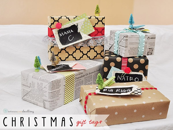 Christmas Gifts Wrapped, Delineateyourdwelling.com