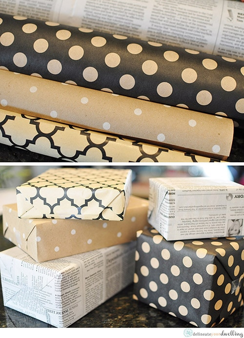 Christmas Wrapping, Delineateyourdwelling.com