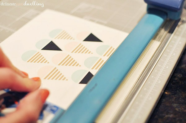 Tips for creating a DIY Clipboard Gallery Wall, Delineate Your Dwelling