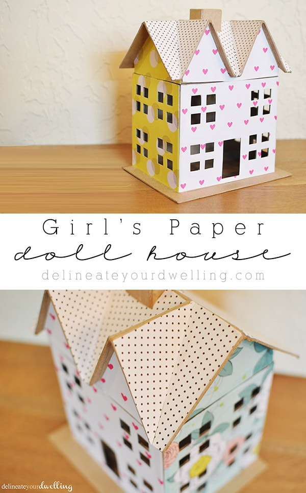 Girl Scrapbook paper House, Delineateyourdwelling.com
