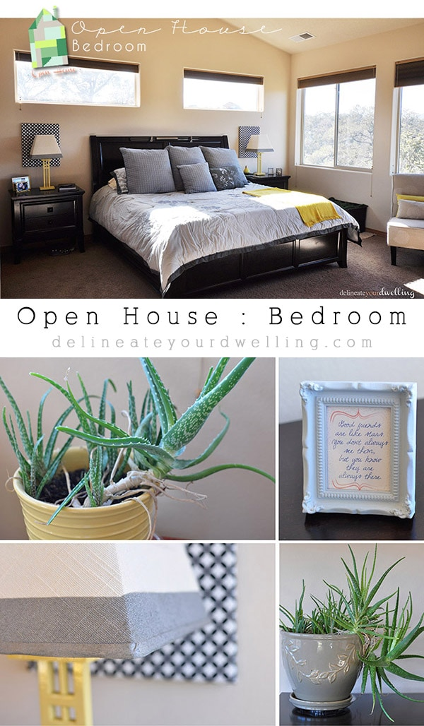 Open House Bedroom, Delineateyourdwelling.com