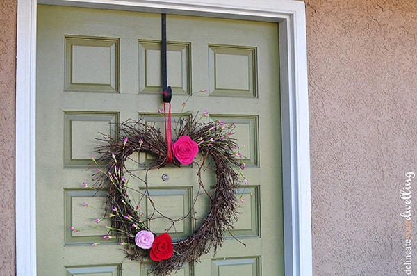 Valentines Day wreath 3
