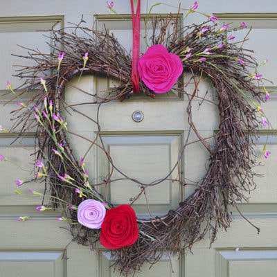 1 Valentines Day wreath
