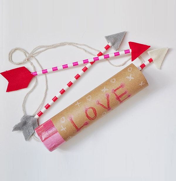 Valentine's Day Arrow Craft