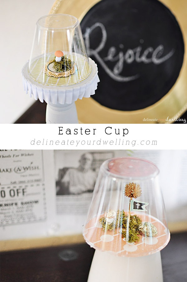 Easter Cup crafts, Delineateyourdwelling.com
