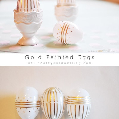 Gold Striped Eggs, delineateyourdwelling.com