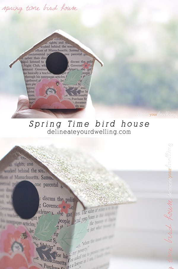 Spring Time Bird House, Delineateyourdwelling.com