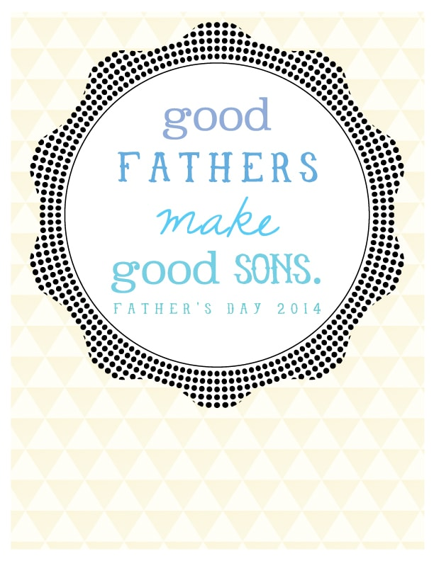 Free Father's Day Printable, Delineate Your Dwelling #fathersday #printable