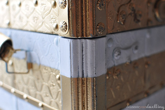 How to paint a chest, Delineate Your Dwelling #update #chest #trunk #paint #storage
