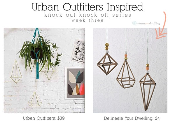 Prisma Wall Decor : Urban Outfitters, Delineate Your Dwelling #hemmeli #sculpture #gold