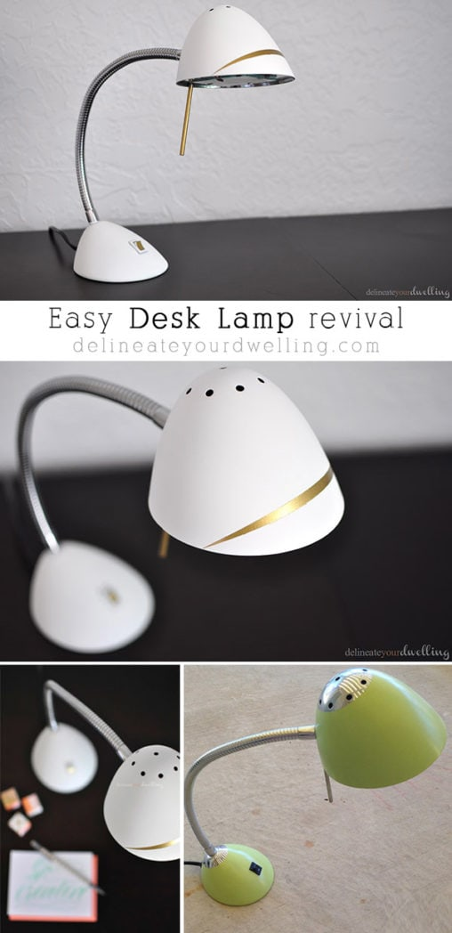 Desk Lamp Revival, Delineateyourdwelling.com