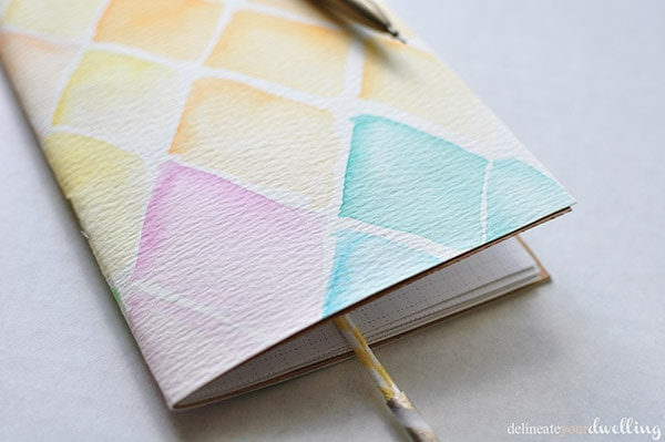 7 watercolor notebook | delineateyourdwelling.com