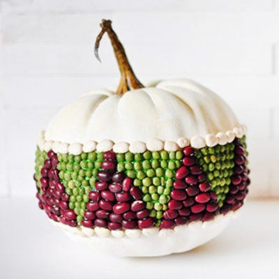 1 DIY Bean Pumpkin