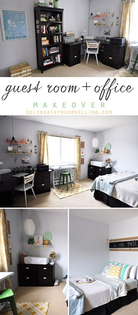 Guest Room + Office update, Delineate Your Dwelling