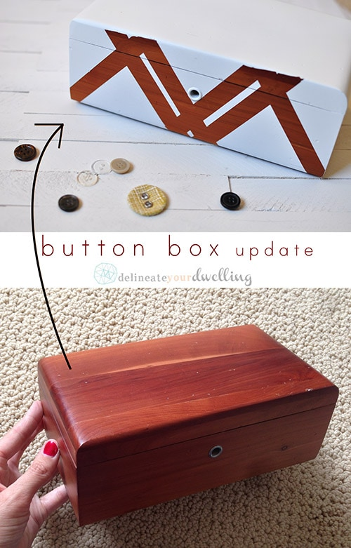 button box before after, Delineateyourdwelling.com