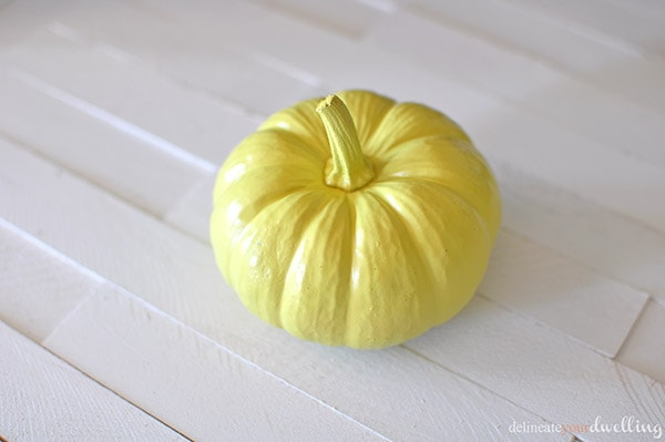 Pineapple Pumpkin yellow, Delineate Your Dwelling