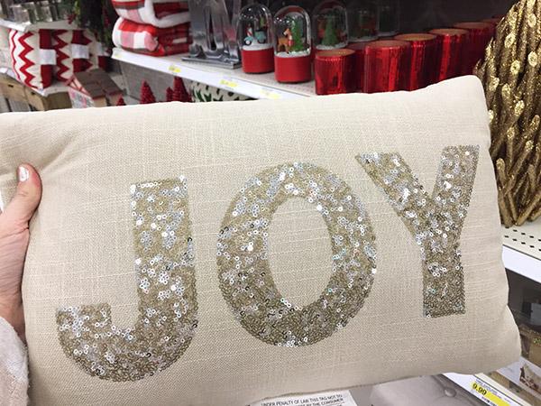Target Joy pillow