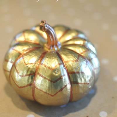 Gold and Bronze Pumpkin, Delineate Your Dwelling
