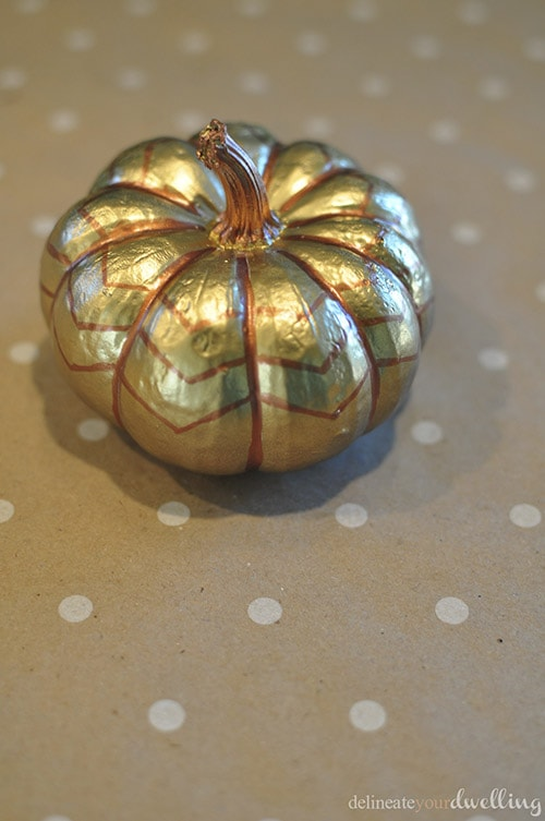 Gold Pumpkins