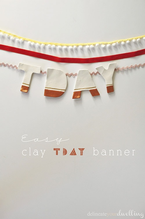 Clay TDAY banner, Delineate Your Dwelling
