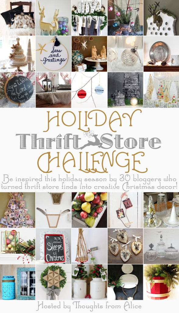 Holiday-Thrift-Store-Challenge, Delineateyourdwelling.com
