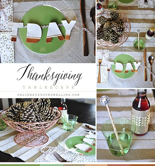 Thanksgiving Tablescape-2, Delineate Your Dwelling