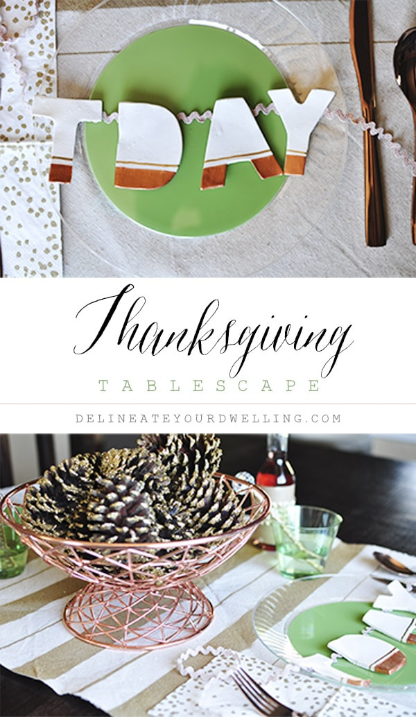 Thanksgiving Tablescape Decor, Delineate Your Dwelling