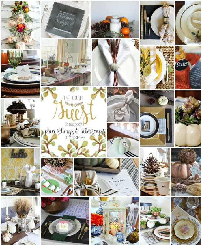 thanksgiving tablescape, Delineate Your Dwelling