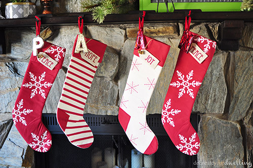 Christmas Fireplace Stocking, Delineateyourdwelling.com