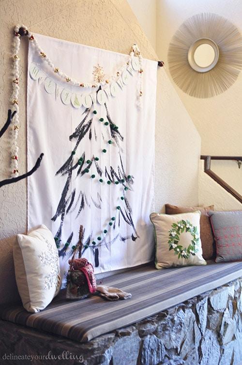 Christmas Tree Hanging, Delineateyourdwelling.com