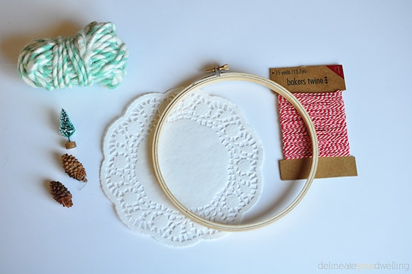Embroidery Hoop Decor supplies, Delineate Your Dwelling