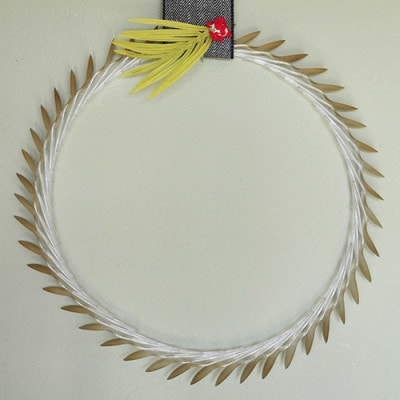Spoon Holiday Wreath, Delineateyourdwelling.com