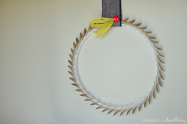 Spoon Wreath, Delineateyourdwelling.com