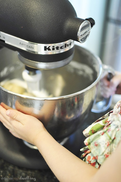 Spritz Cookies mixer, Delineateyourdwelling.com