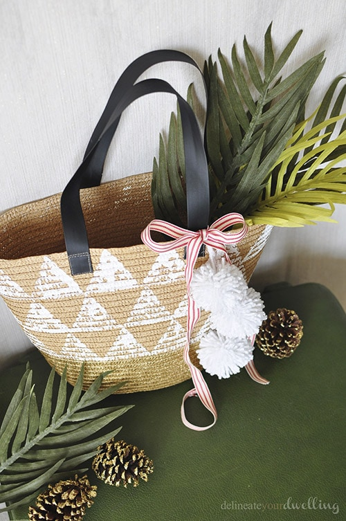 Triangle Tote gift bag - Delineateyourdwelling.com