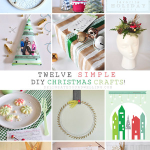 Twelve Simple DIY Christmas Craft ideas, Delineateyourdwelling.com