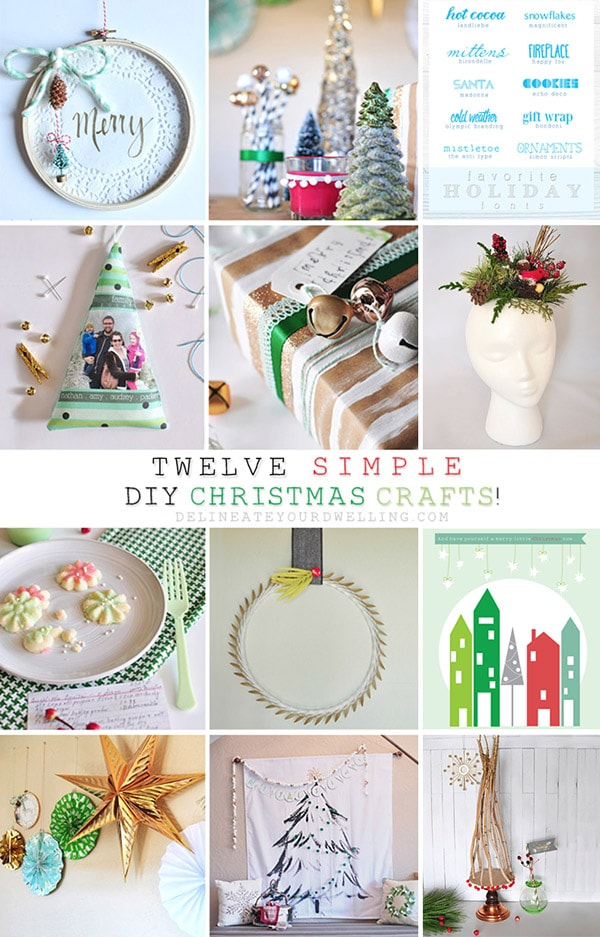 New Christmas Craft Ideas Part - 15: Delineate Your Dwelling