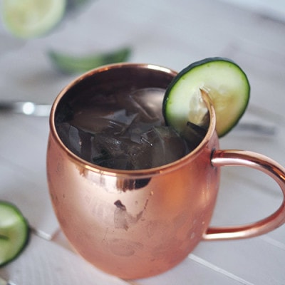Cucumber Mint Moscow Mule, Delineateyourdwelling.com