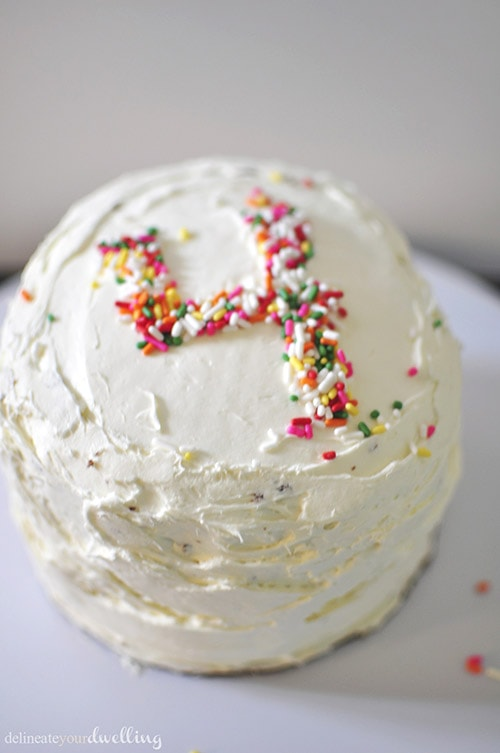 Fourth Sprinkle Cake, Delineateyourdwelling.com
