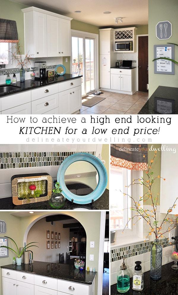 High End kitchen renovation, low end price