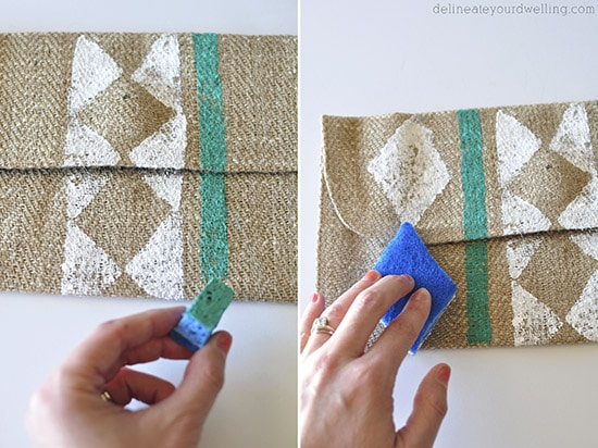 Stamped Clutch steps, Delineateyourdwelling.com