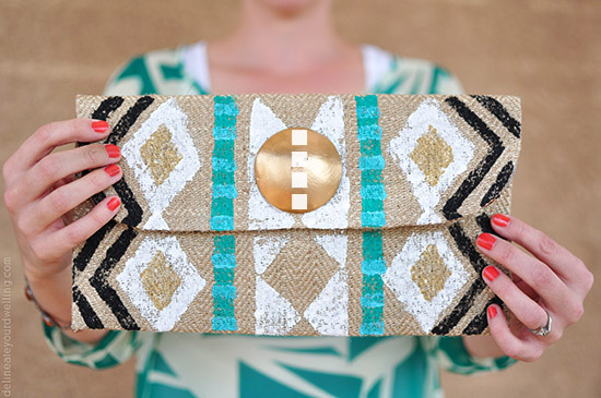 Stamped Clutch, Delineateyourdwelling.com